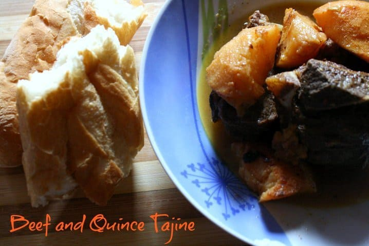 One Pot Beef and Quince Tagine