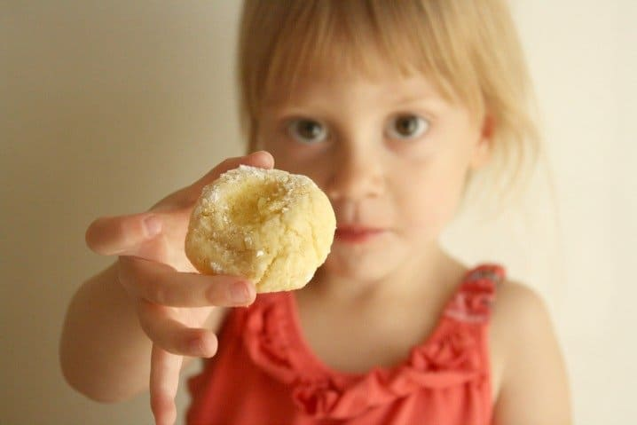gluten free ghriba cookies