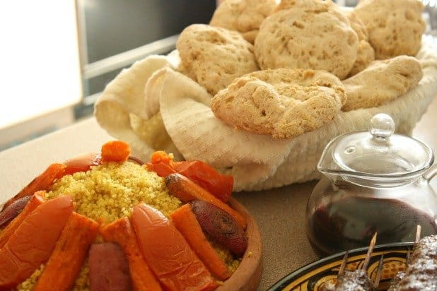 Couscous and Bread