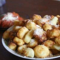 Grandma's Homemade Gnocchi and Easy Red Sauce