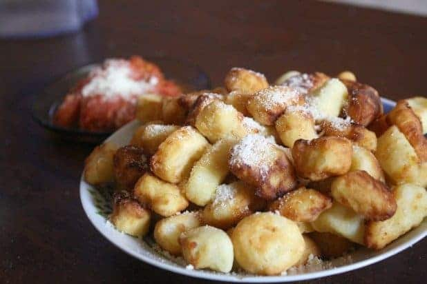 Grandma's Homemade Gnocchi and Easy Red Sauce - MarocMama