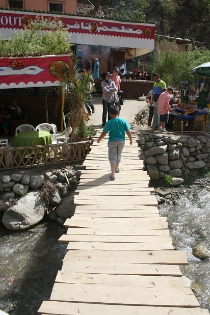 River Bridge in Seti Fatima