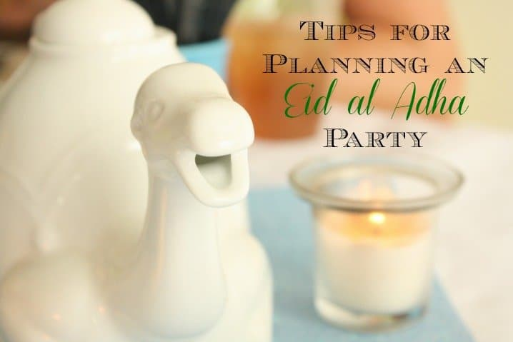 planning an eid party