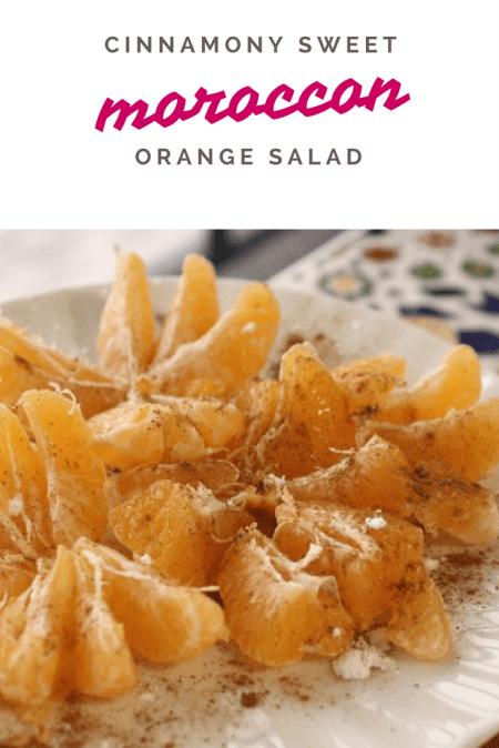 Moroccan Sweet Orange Salad | marocmama.com