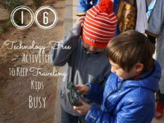 16 Technology Free Activities to Keep Traveling Kids Busy