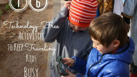 16 Technology-Free Activities to Keep Traveling Kids Busy