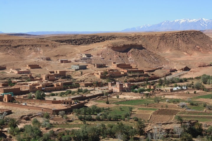 Ait Ben Haddou from village top