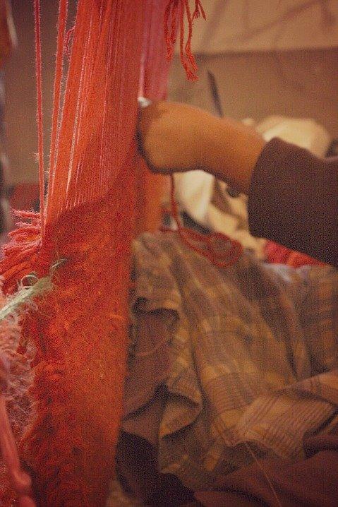 Berber Woman Loom