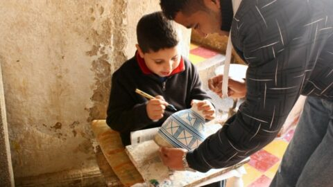 Touring Fez, Morocco with Kids