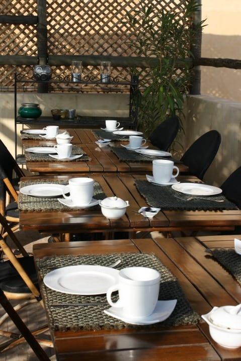 Breakfast at Riad Anata
