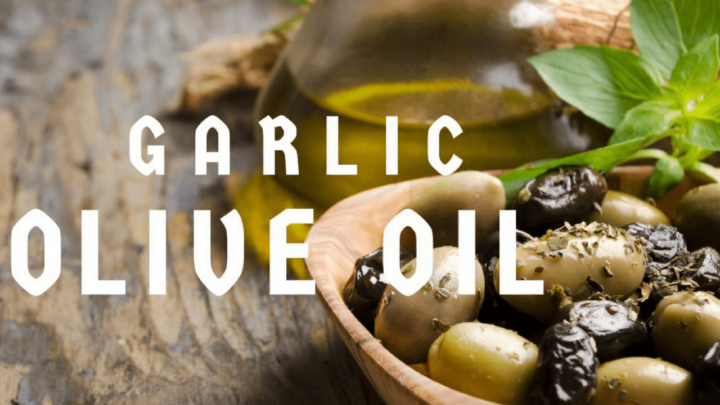 Easy Garlic Infused Olive Oil