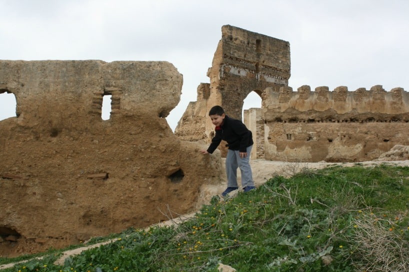 Ruins in Fez