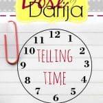 Telling Time in Darija