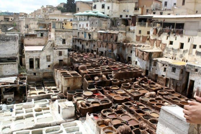 The Fez Tannery