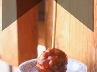 Slow Cooker Harissa Meatballs