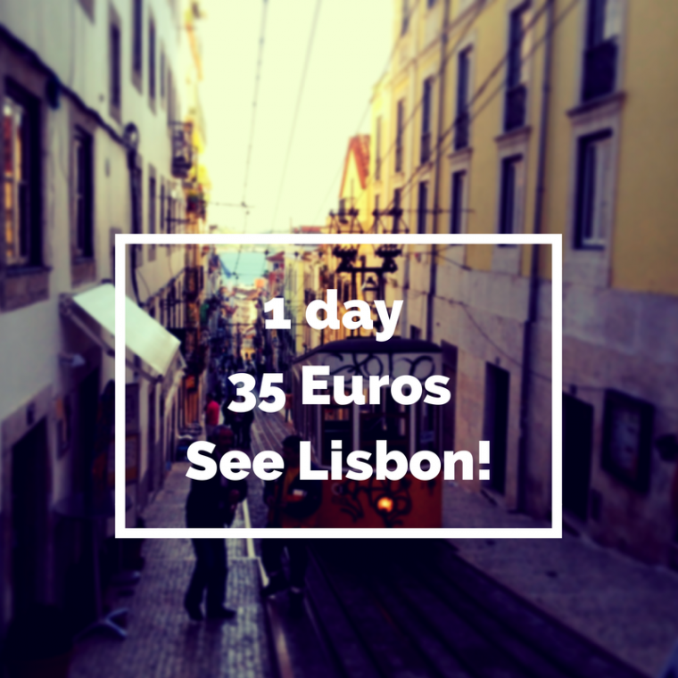 Lisbon in 1 Day 35 Euro