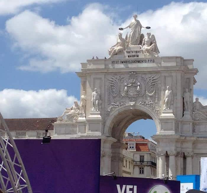 PracaCommercial Lisbon