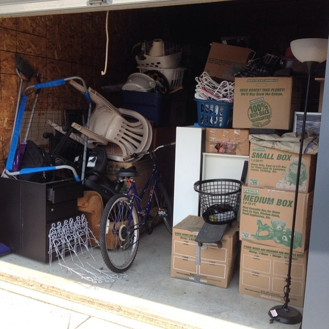 When we moved to morocco we put almost everything in a storage shed. Now I have to get rid of it all this summer as we've decided to stay. #sigh #expatlife #ihatethis