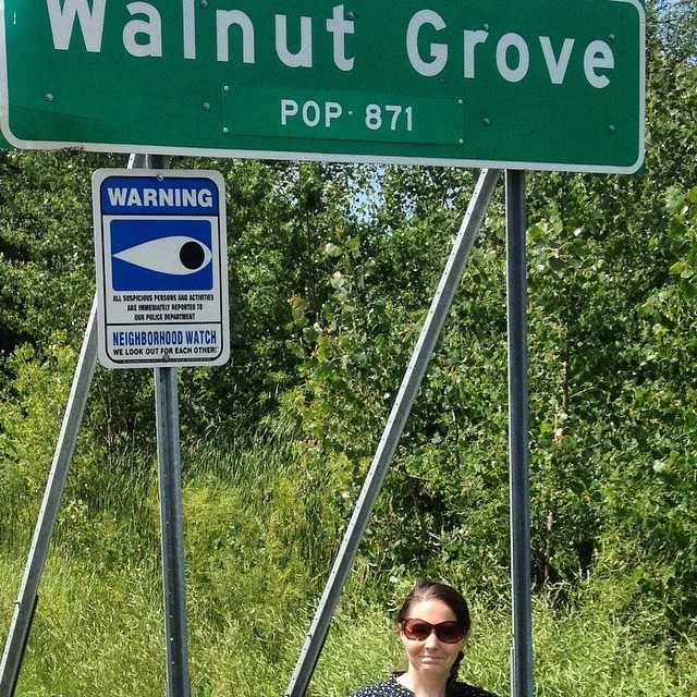 Points if you can name why we'd want to stop here! #america #usa #minnesota #history #walnutgrove