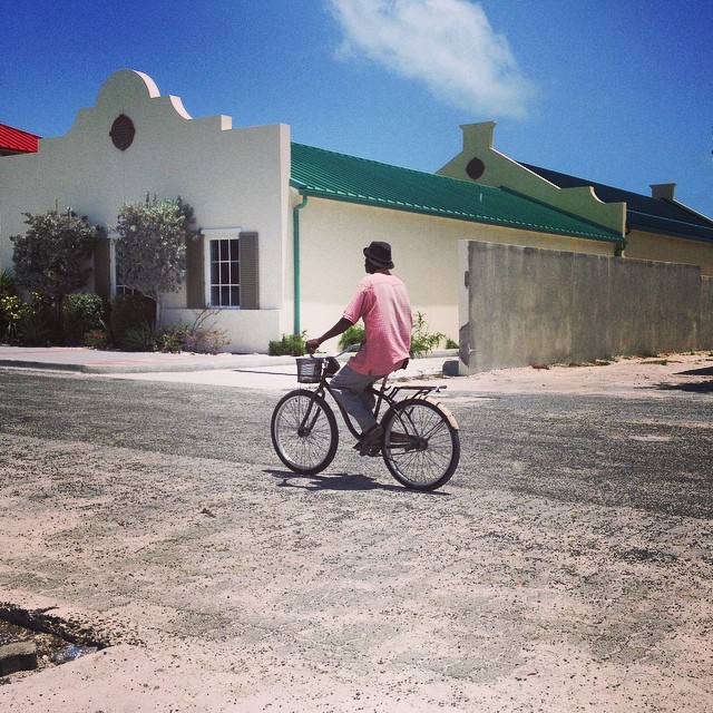 There weren't many locals around when we stopped in #grandturk but this guy riding his bike near the beach made me smile. #travel #islandlife #turksandcaicos #latergram