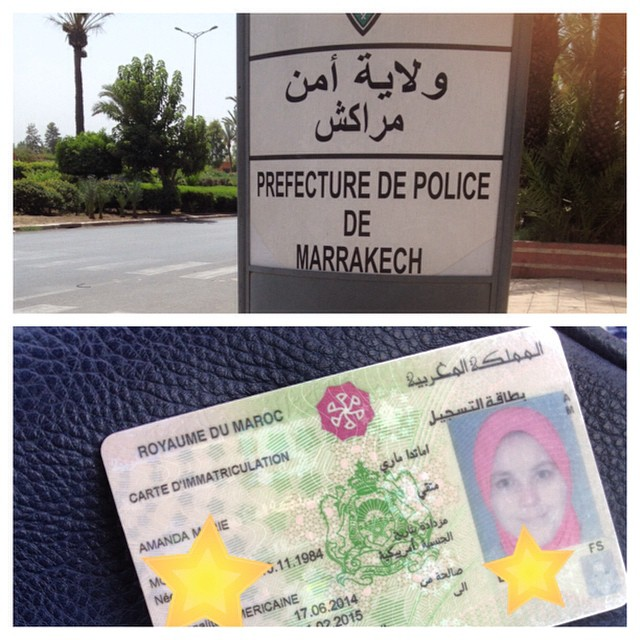 Finally I'm an official resident in #morocco! #expatlife