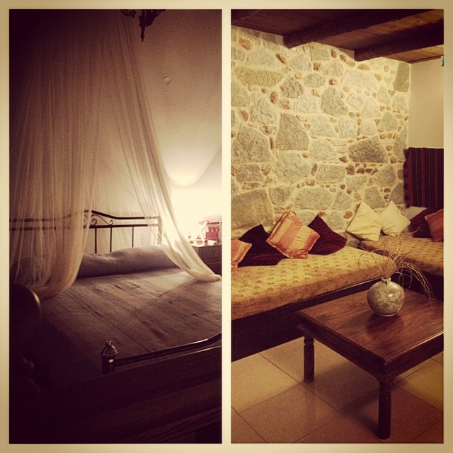My room I'm out  rental villa. Thanks #housetrip can't wait to see the sights with sunrise tomorrow #crete #grrevce