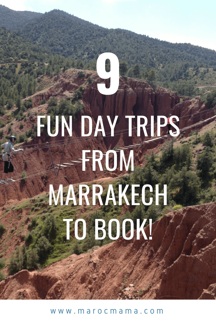 9 Excursions from Marrakech