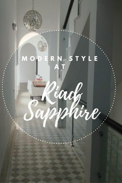 Modern Style at Riad Sapphire | Marrakech Morocco | marocmama.com