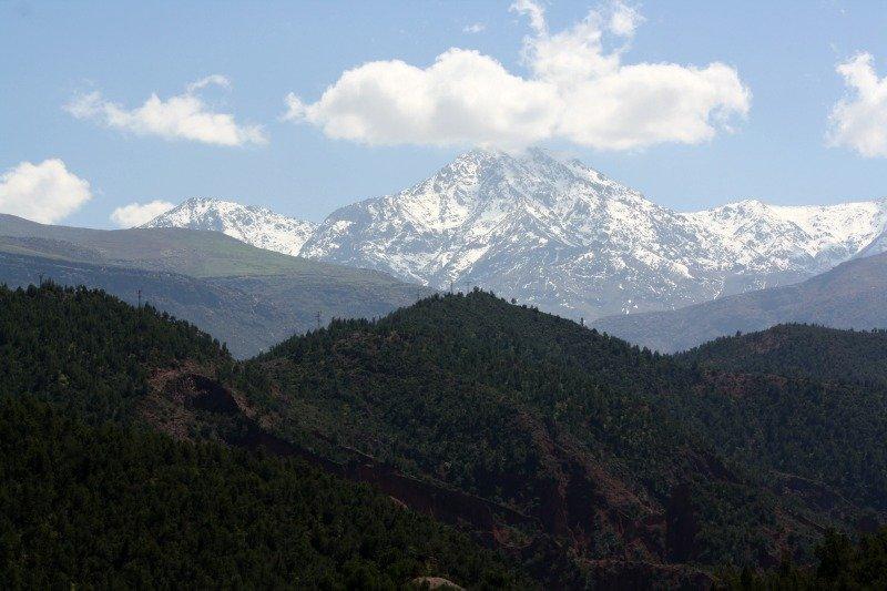 High Atlas Berber Villages