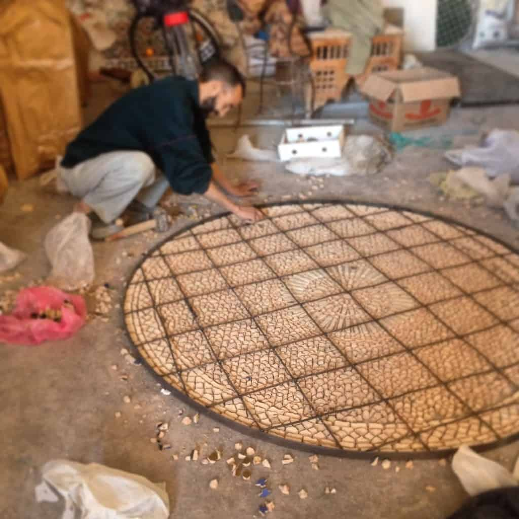 Moroccan Zellige Artisan