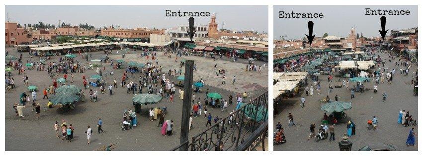 Medina Market Entrances