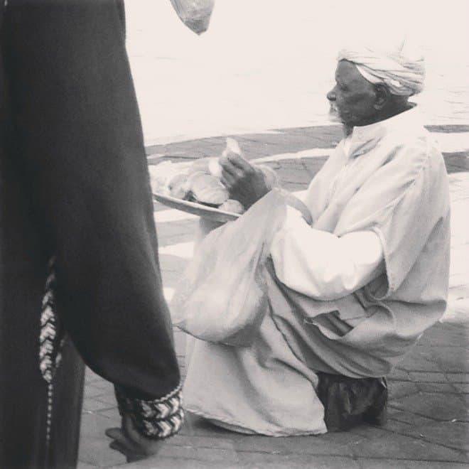 Old Man in Djem al Fna
