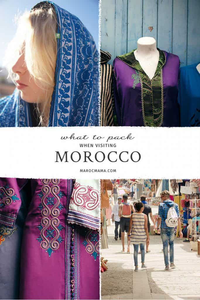 Packing Ideas for Morocco