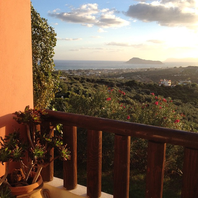 Good morning from beautiful #Crete! #sunrise #greece #housetrip #islandlife