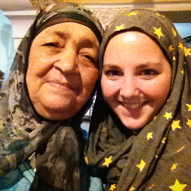 This is my favorite Moroccan grandma. One of the stops on our #marrakechfoodtour is at her restaurant. Her dad was one of Mohamed V cooks and she learned how to cook with him in the royal kitchens! #foodie #travel #Marrakech #morocco