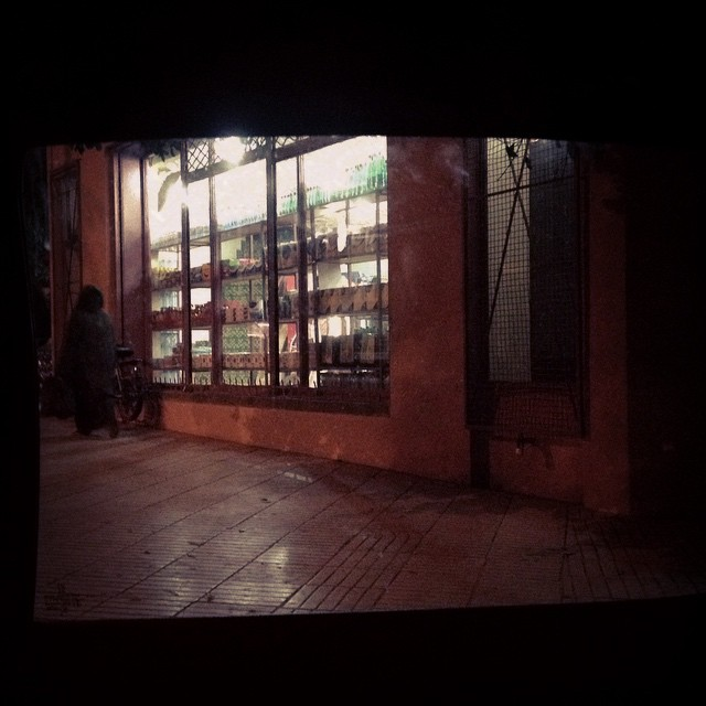 #irony an older niqabi lady walks past an alcohol shop in #marrakech some people think no liquor should be sold in country but I like that Morocco gives people the choice to decide for themselves. #choice #morocco