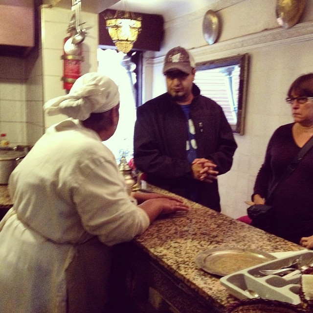 The lovely Khadijah one of the kindest women I've met In Morocco and an excellent cook. Meet her on our #marrakechfoodtour we've got a few spots left for #December but almost fully booked! #Marrakech #foodie #foodtour #travel