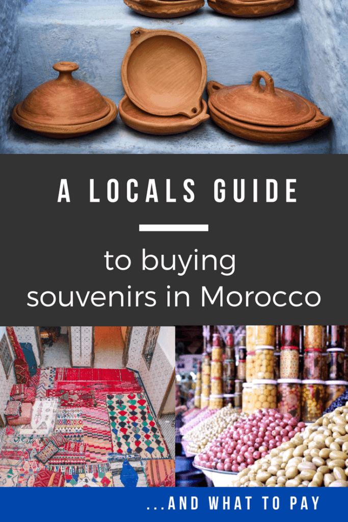 A Locals guide to buying souvenirs on Morocco