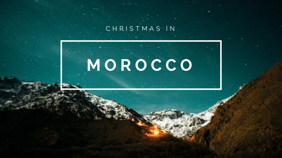 Spending Christmas in Morocco