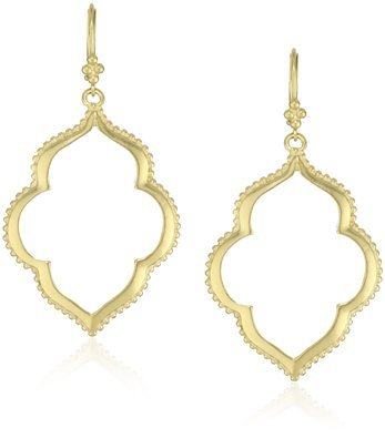 Moroccan Inspired Gold Earrings