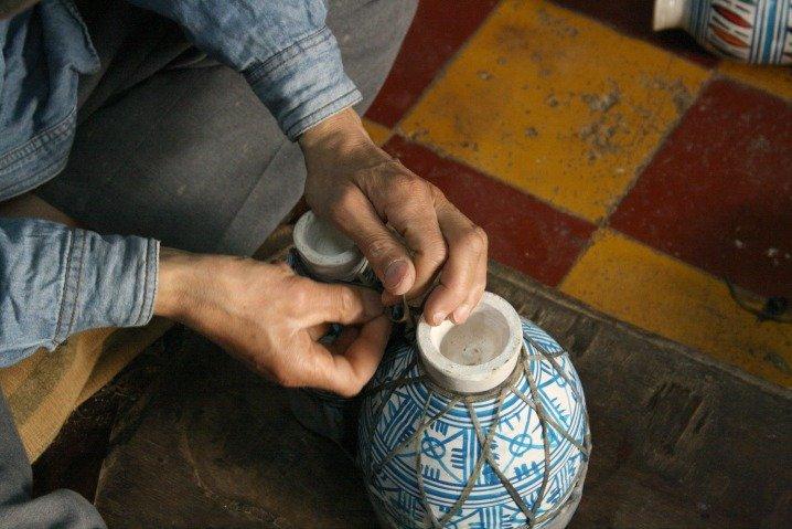 Handmade Moroccan Drum