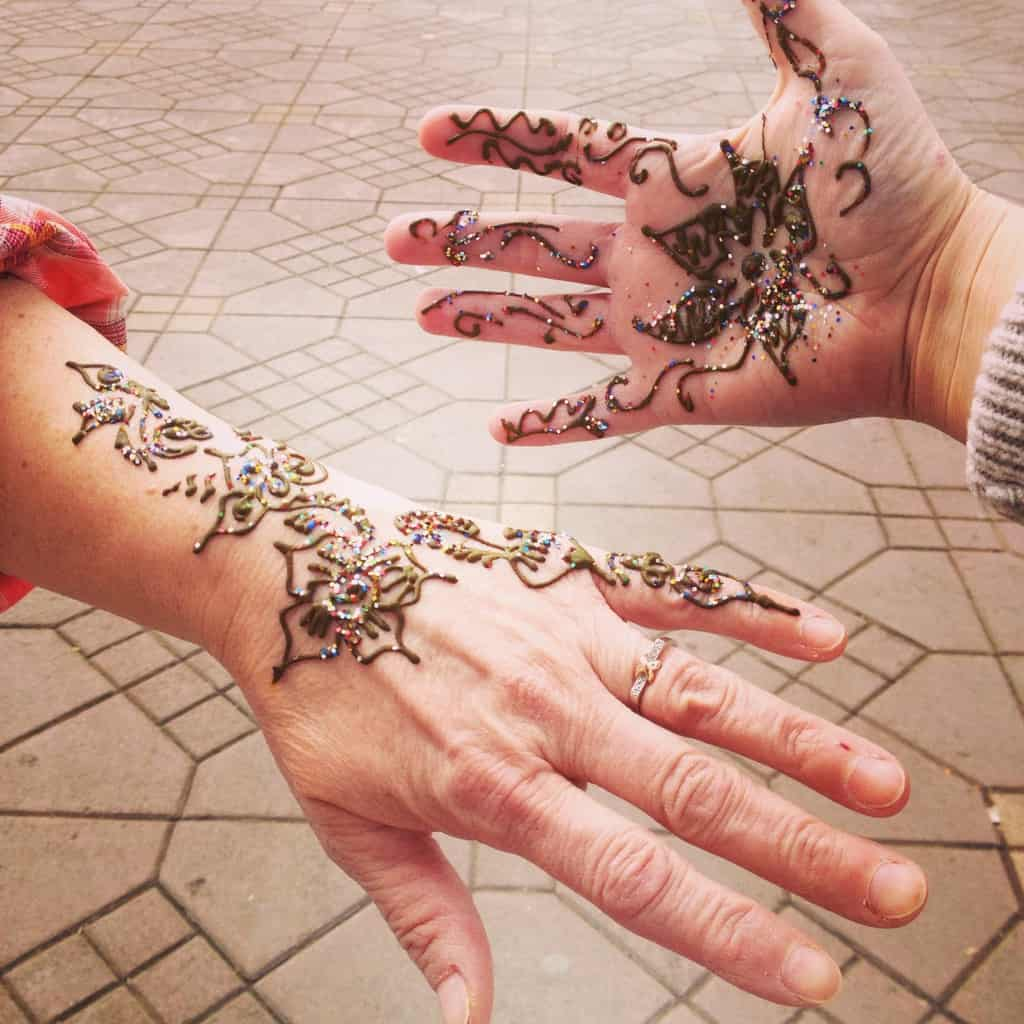 Avoiding the Henna harassment in Marrakech
