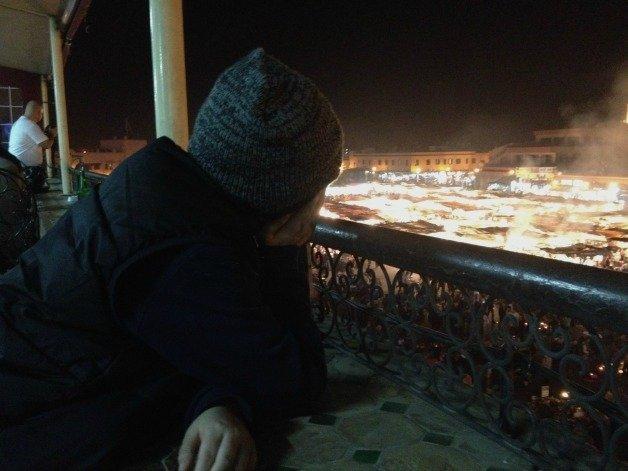 Marrakech Terrace People Watching