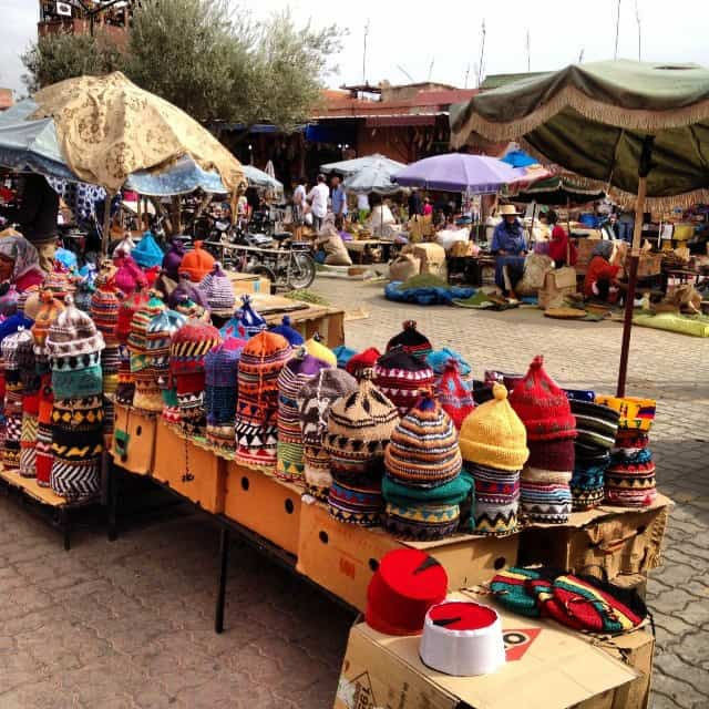 Morocca Hats and Clothing