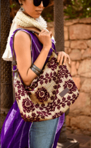 Mushmina Hobo Bags in Purple