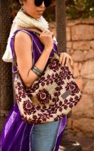 Mushmina Hobo Bags in Purple