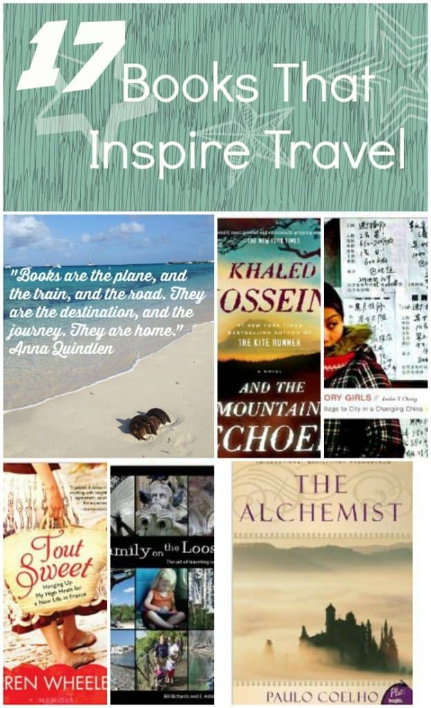17 Books That Inspire Travel