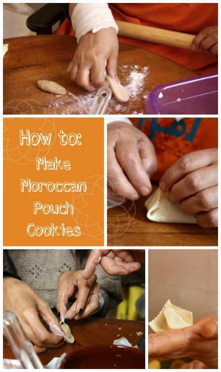 How to make Moroccan pouch cookies