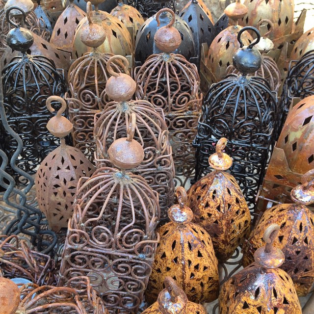The iron souk is out of the way, you probably won't find it by looking but by getting lost. I watched these being made one bend at a time. #handmade #marrakech #morocco #shopping #market #medina #souk #souq #igersmorocco
