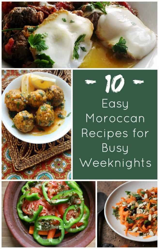 10 Easy Moroccan Recipes for Busy Weeknights